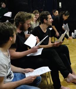 Workshop Teilnehmer Schule für das Leben